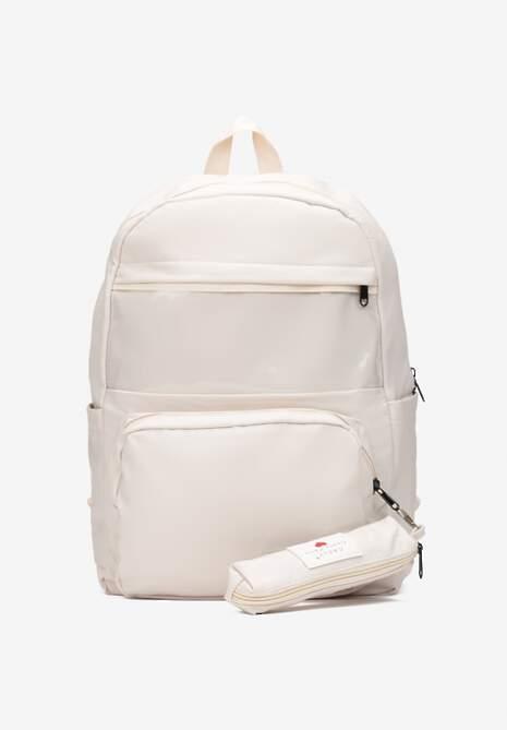 Jasnobeżowy Plecak Adynome