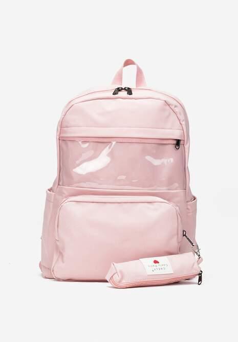Różowy Plecak Adynome