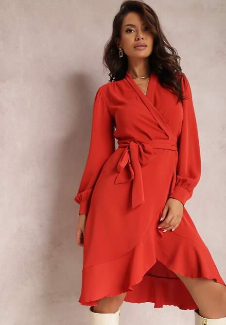 Czerwona Sukienka Altexei