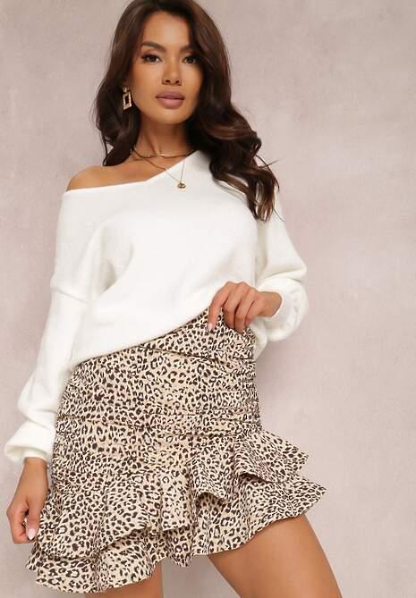 Biały Sweter Andrala