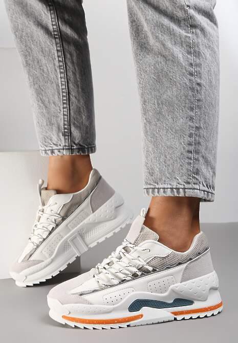 Białe Sneakersy Corbastus