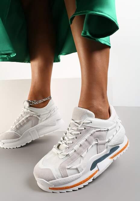 Białe Sneakersy Polelle