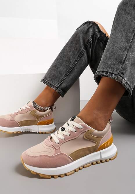 Różowe Buty Sportowe Phaeliera