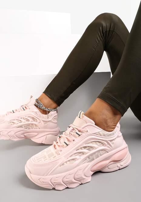 Różowe Sneakersy Isaste