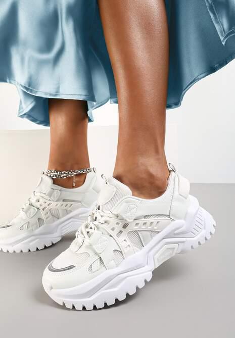 Białe Sneakersy Zaphreal