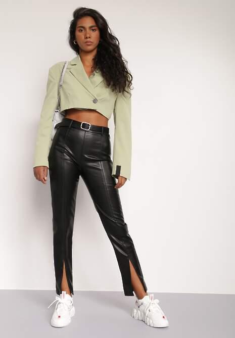 Czarne Spodnie Phoebice