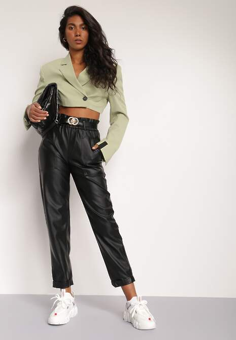 Czarne Spodnie Agathessa