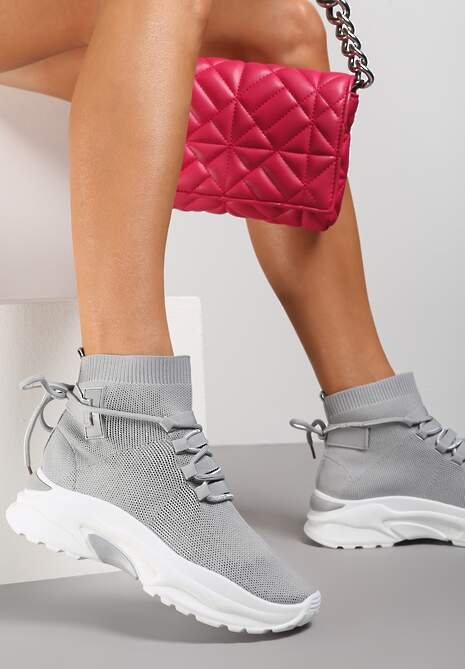 Szare Sneakersy Diomerine