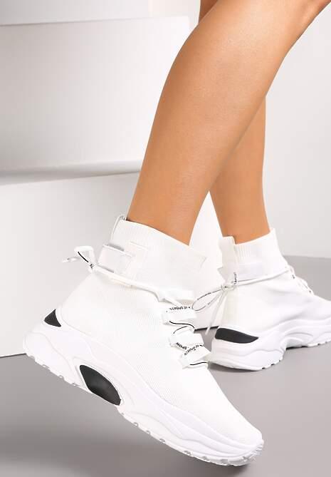 Białe Sneakersy Diomerine