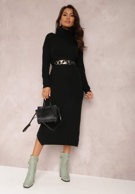 Czarna Sukienka Chloramia