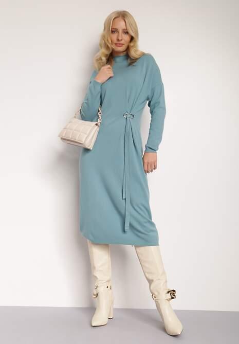 Niebieska Sukienka Khloria