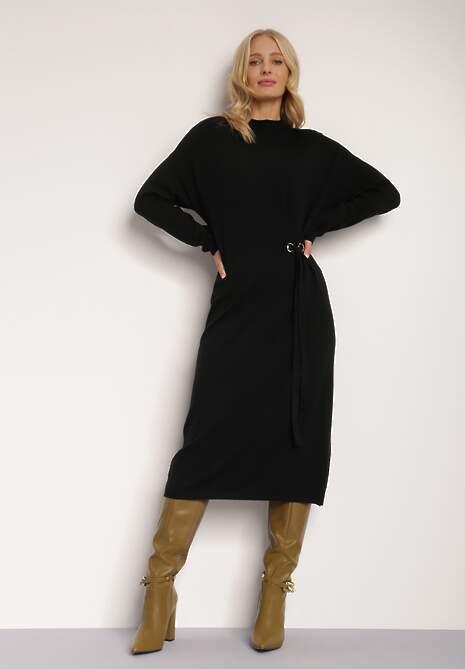 Czarna Sukienka Khloria