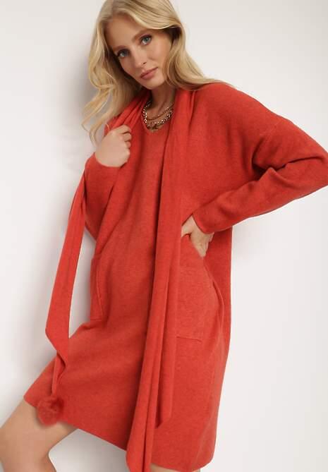 Czerwona Sukienka Ismanthe