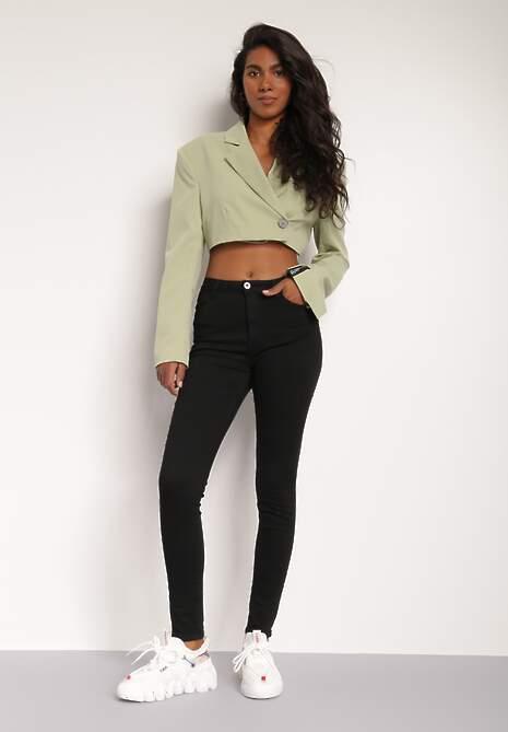 Czarne Spodnie Demochis