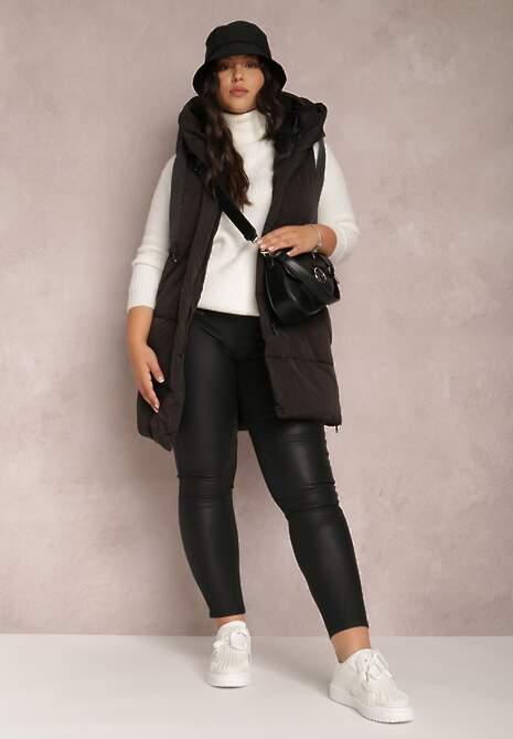 Czarne Spodnie Slim Endastis