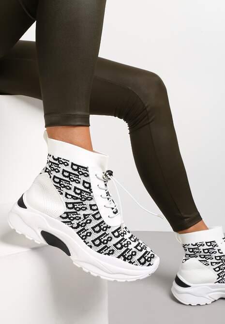 Białe Sneakersy Rhenaia