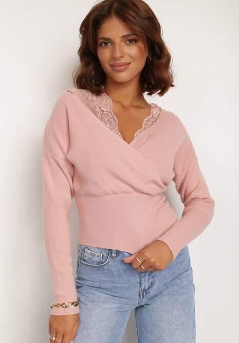Różowy Sweter Acharis