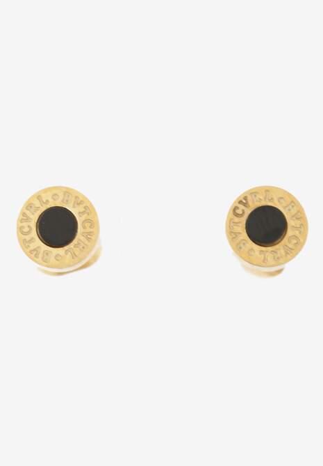 Złoto-Czarne Kolczyki Deinice