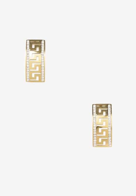 Złote Kolczyki Acteis