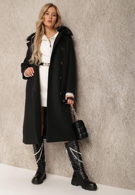 Czarny Płaszcz Amatheris