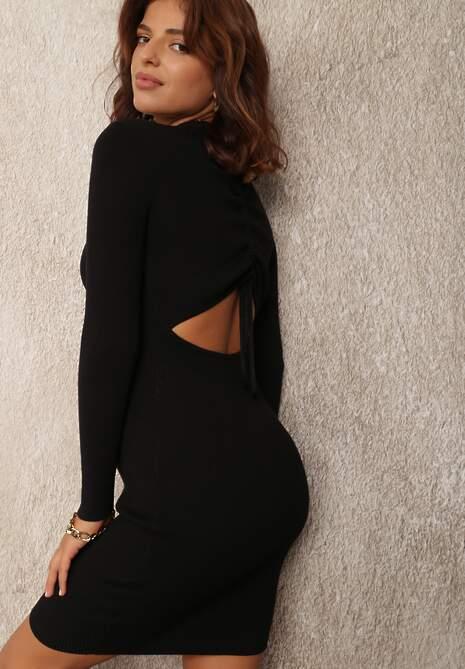Czarna Sukienka Agiche