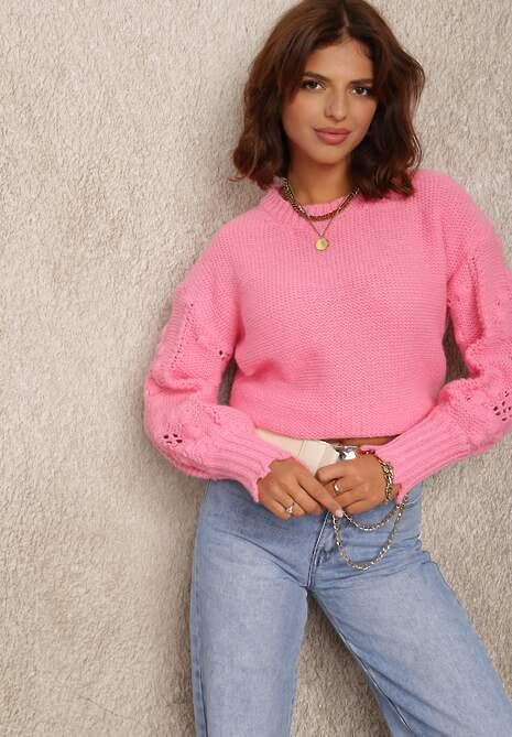 Różowy Sweter Callomela