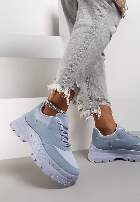 Niebieskie Sneakersy Hyresilea
