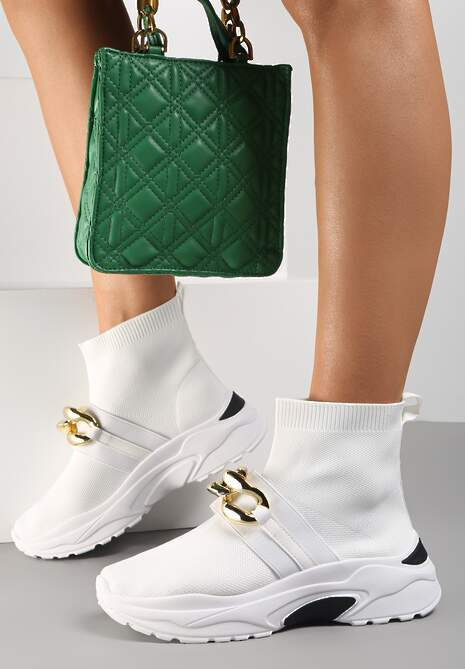 Białe Sneakersy Calothe