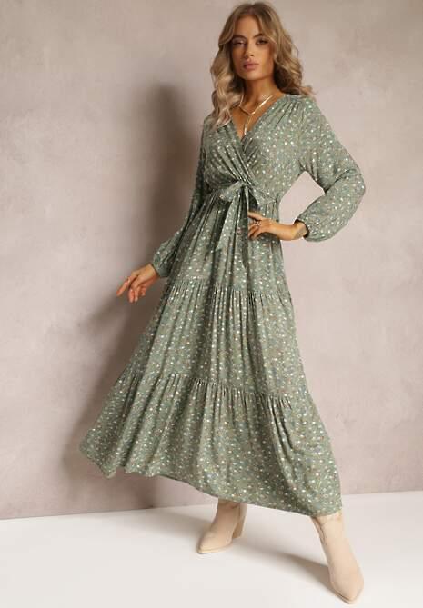 Zielona Sukienka Appoloin