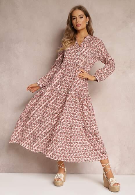 Łososiowa Sukienka Bolina