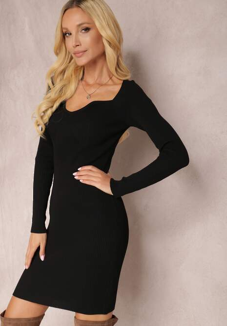 Czarna Sukienka Khlorasia