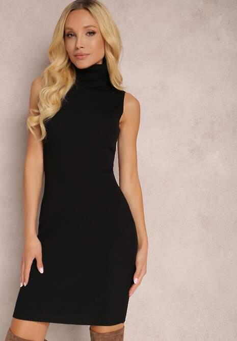 Czarna Sukienka Cillonia