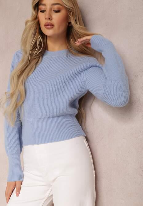 Jasnoniebieski Sweter Chrysena