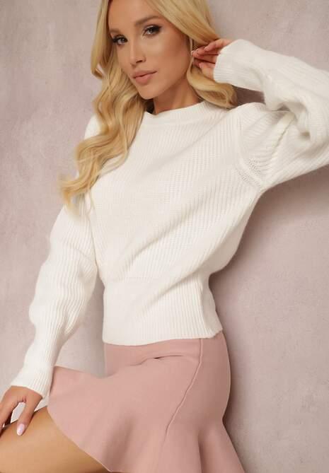 Biały Sweter Chrysena