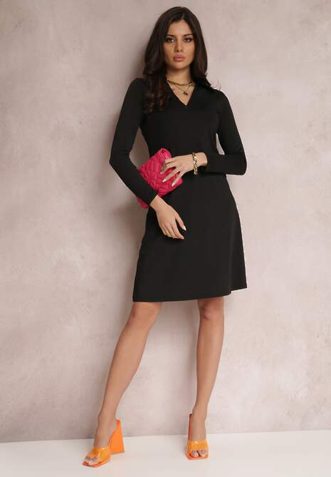 Czarna Sukienka Naesione