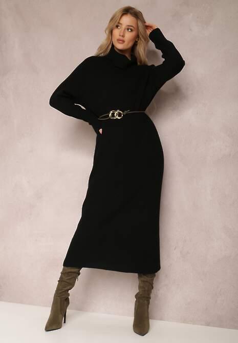 Czarna Sukienka Timamia