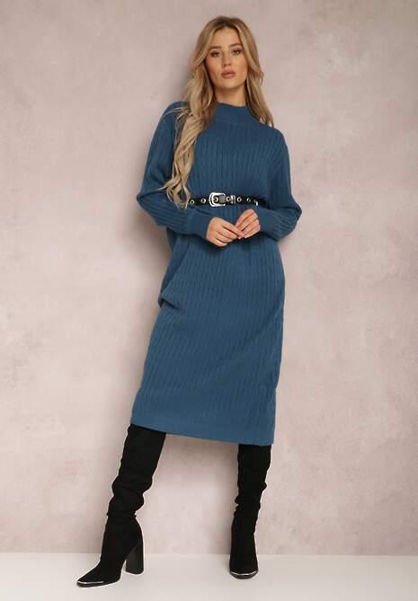 Niebieska Sukienka Pronaste