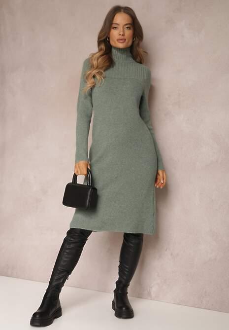 Zielona Sukienka Euphadina
