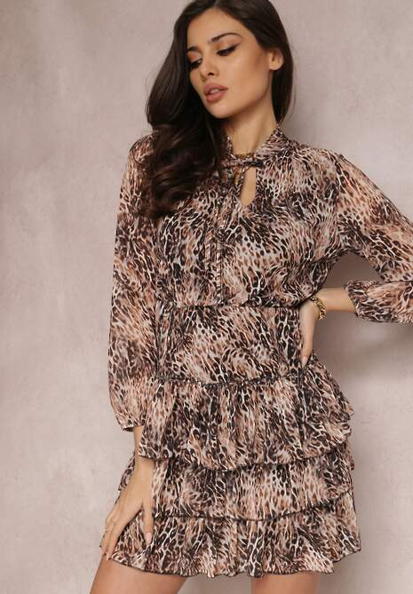 Beżowa Sukienka Kydale