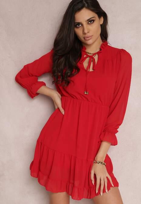 Czerwona Sukienka Kallarpia