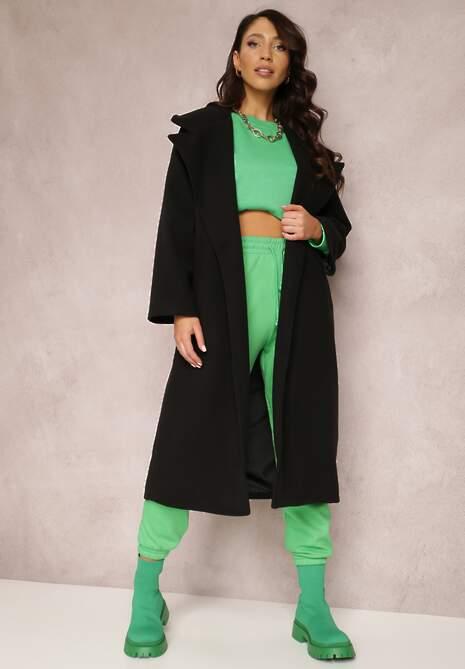 Czarny Płaszcz Amarhamna