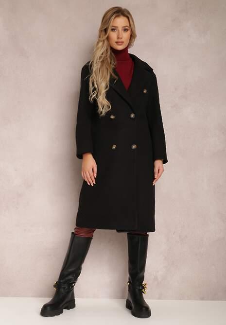 Czarny Płaszcz Phaerede
