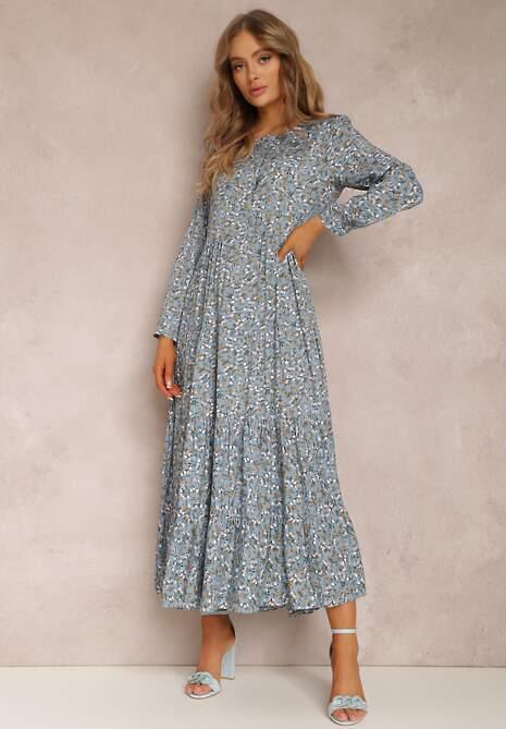 Niebieska Sukienka Feanyore