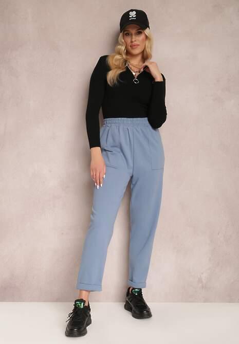 Niebieskie Spodnie Aerethe