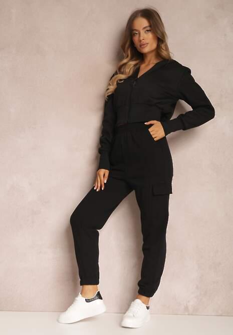 Czarne Spodnie Mesyore