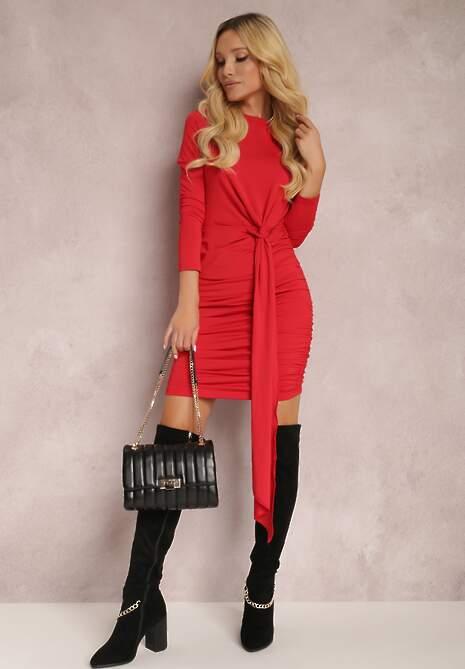 Czerwona Sukienka Zeriphis