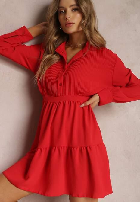 Czerwona Sukienka Ferea