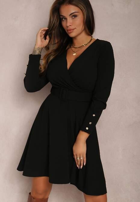 Czarna Sukienka Doronia