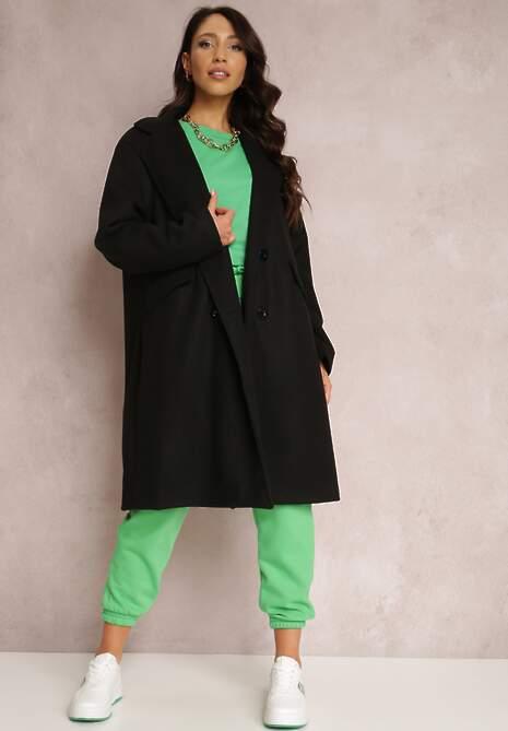 Czarny Płaszcz Dysiris