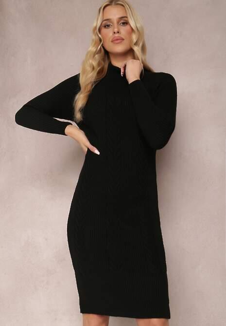 Czarna Sukienka Soleo
